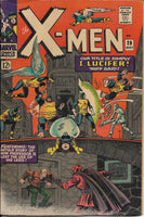 "The X-Men No. 20, ""I, Lucifer!,"" Marvel Comics, May 1966"