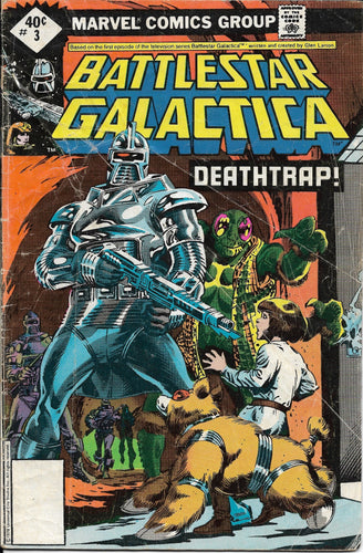 Battlestar Galactica No. 3, Deathtrap!, Marvel Comics, May 1979