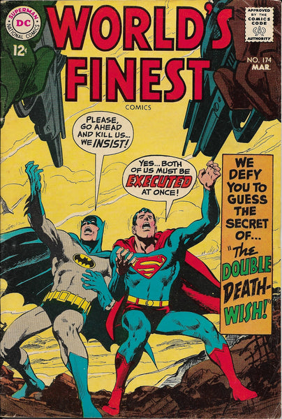 World's Finest No. 174, Featuring Batman & Superman, DC Comics, March 1968
