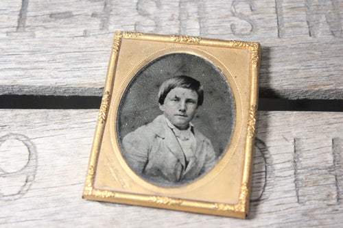 Ambrotype Photograph of a Young Man