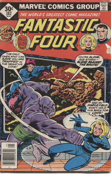 Fantastic Four No. 182, Marvel Comics, May 1977