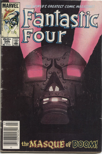 "Fantastic Four No. 268, ""The Masque of Doom,"" Marvel Comics, July 1984"