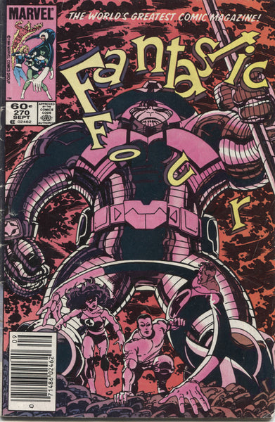 Fantastic Four No. 270, Marvel Comics, September 1984