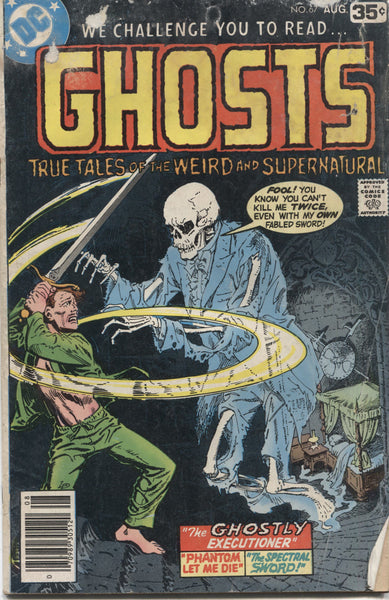 Ghosts No. 67, DC Comics, August 1978