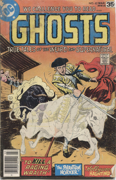 Ghosts No. 62, DC Comics, March 1978