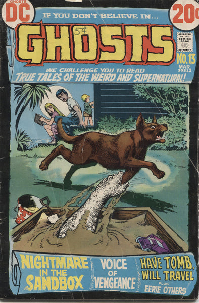 Ghosts No. 13, DC Comics, March 1973