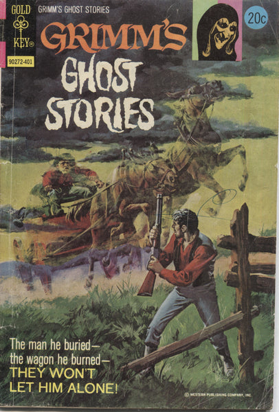 Grimm's Ghost Stories No. 14, Gold Key Comics, January 1974