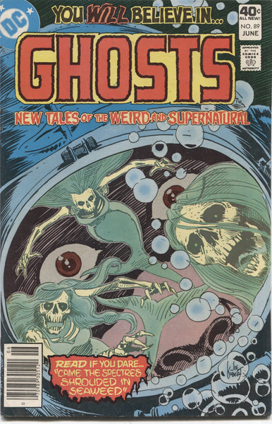 Ghosts No. 89, DC Comics, June 1980