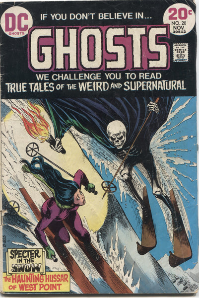 Ghosts No. 20, DC Comics, November 1973
