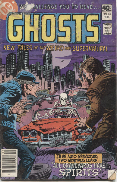 "Ghosts No. 85, ""All Graveyards Have Spirits,"" DC Comics, February 1980"