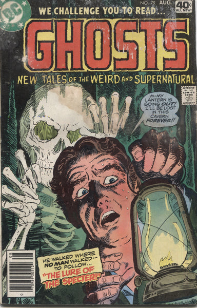 "Ghosts No. 79, ""The Lure of the Specter,"" DC Comics, August 1979"