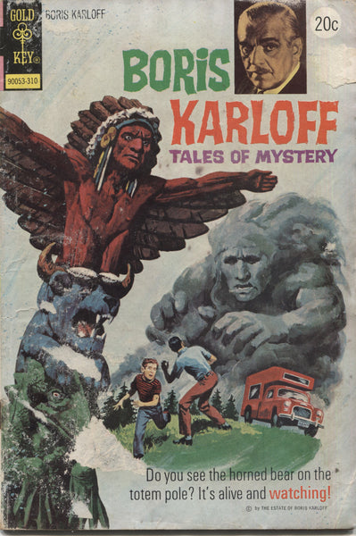 Boris Karloff Tales of Mystery No. 50, Gold Key Comics, October 1973