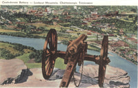 Lookout Mountain, Chattanoogha, Tennessee Vintage Souvenir Postcard Folder