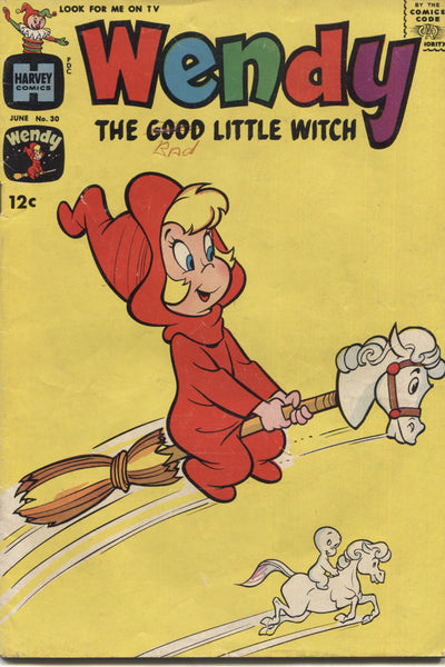 Wendy the Good Little Witch No. 30, Harvey Comics, June 1965