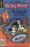 "Walt Disney Mickey Mouse No. 198, ""The Trail of the Doodlebugs,"" Gold Key Comics, August 1979"