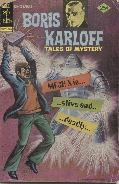 Boris Karloff Tales of Mystery No. 68, Gold Key Comics, June 1976