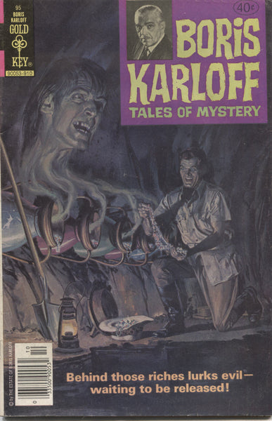 Boris Karloff Tales of Mystery No. 95, Gold Key Comics, October 1979