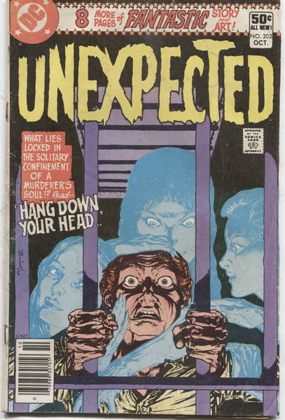 "Unexpected No. 203, ""Hang Down Your Head,"" DC Comics, October 1980"