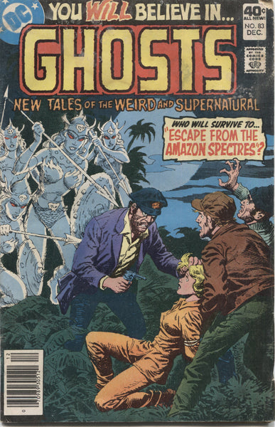 "Ghosts No. 82, ""Escape from the Amazon Spectres,"" DC Comics, December 1979"