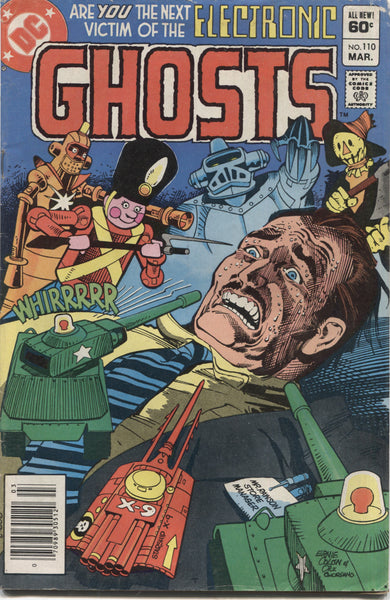 Ghosts No. 110, DC Comics, March 1982