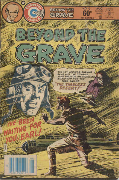 "Beyond the Grave No. 16, ""The Timeless Desert,"" Charlton Comics, August 1984"