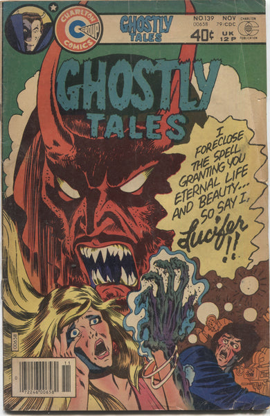 Ghostly Tales No. 139, Charlton Comics, November 1979