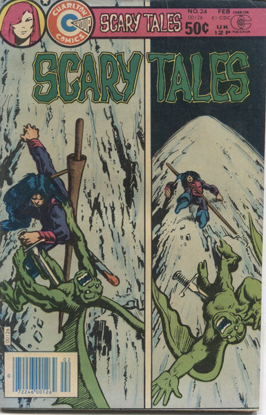 Scary Tales No. 24, Charlton Comics, February 1981