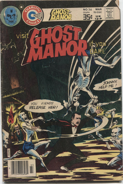 Ghost Manor No. 36, Charlton Comics, March 1978