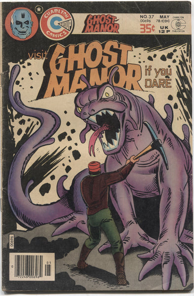 Ghost Manor No. 37, Charlton Comics, May 1978
