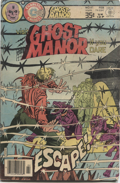 Ghost Manor No. 41, Charlton Comics, February 1979