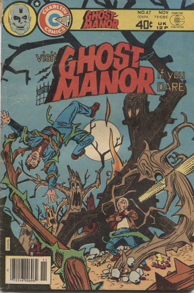 Ghost Manor No. 47, Charlton Comics, November 1979