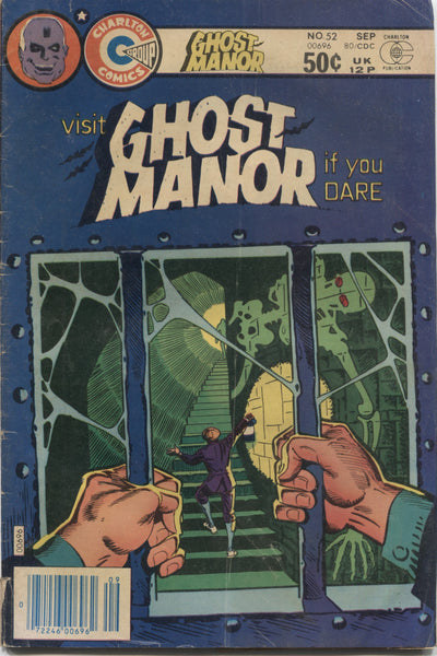 Ghost Manor No. 52, Charlton Comics, September 1980