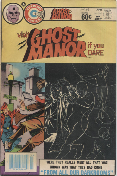 "Ghost Manor No. 62, ""From All Our Darkrooms,"" Charlton Comics, April 1982"