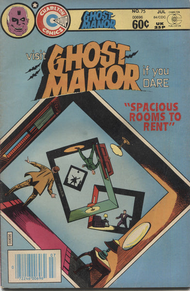 "Ghost Manor No. 75, ""Spacious Rooms to Rent,"" Charlton Comics, July 1984"