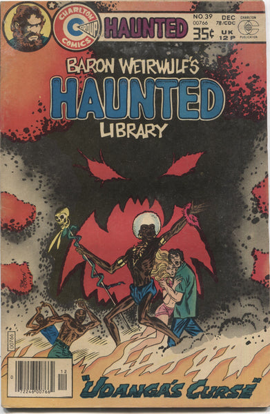 "Haunted No. 39, ""Udanga's Curse,"" Charlton Comics, December 1978"