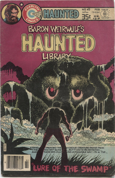 "Haunted No. 40, ""Lure of the Swamp,"" Charlton Comics, February 1979"