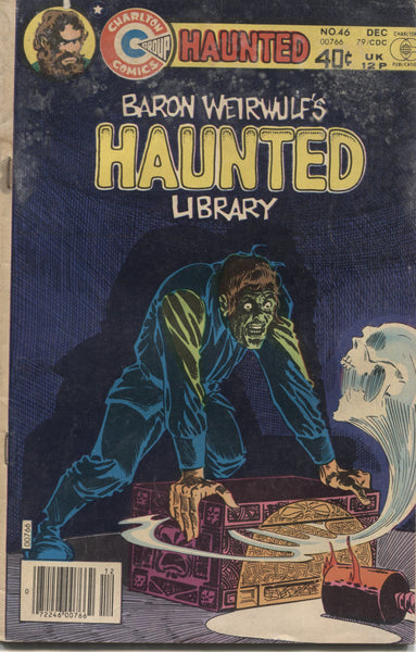 "Haunted No. 46, ""A Real Gone Guy,"" Charlton Comics, December 1979"