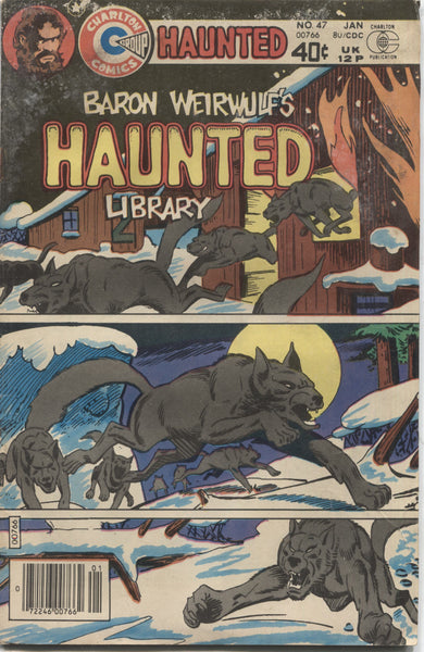 "Haunted No. 47, ""Curse of the Kolukoffs,"" Charlton Comics, January 1980"