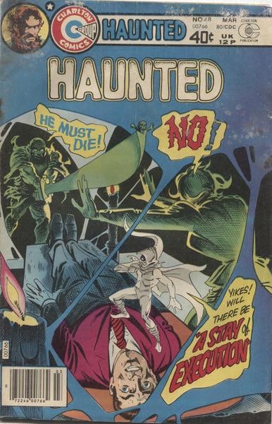 "Haunted No. 48, ""A Stay of Execution,"" Charlton Comics, March 1980"