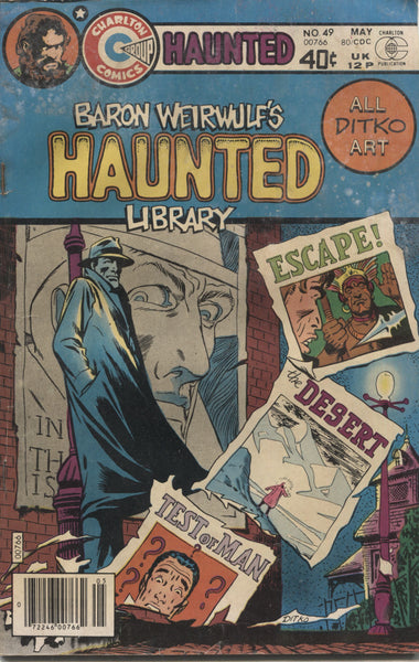 "Haunted No. 49, ""Escape,"" Charlton Comics, May 1980"