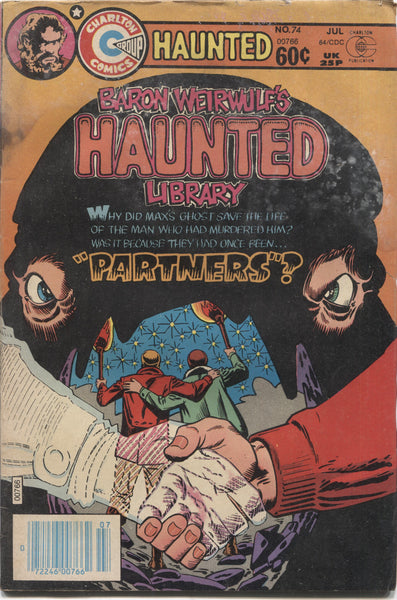 "Haunted No. 74, ""Partners,"" Charlton Comics, July 1984"