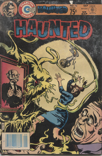 "Haunted No. 75, ""The Elevator,"" Charlton Comics, September 1984"