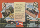 "Georgia ""The Empire State of the South"" Vintage Souvenir Postcard Folder"