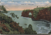 Hawaiian Islands Vintage Souvenir Postcard Folder