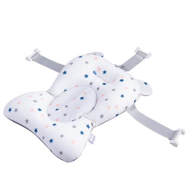 Baby Bath Pad, Adjustable Non-Slip Infant Bath Support Seat - Prestige Baby Bath Pillow
