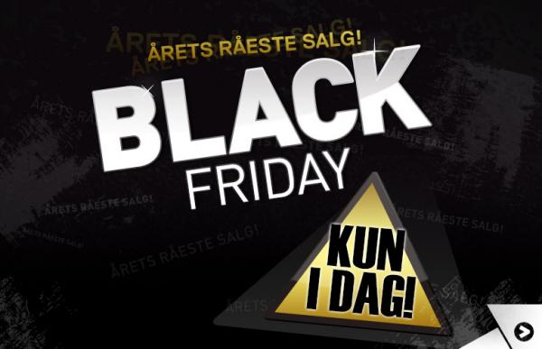 Black friday salg!