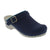 Sanita X454238-29-41 SANITA INGRID Open Back Clogs Oiled Leather (2nd) Navy / EU-41