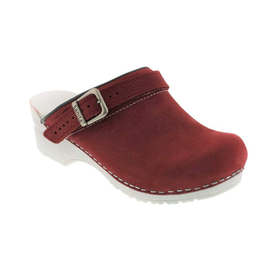 SANITA INGRID Open Back Clogs Oiled Leather (2nd)