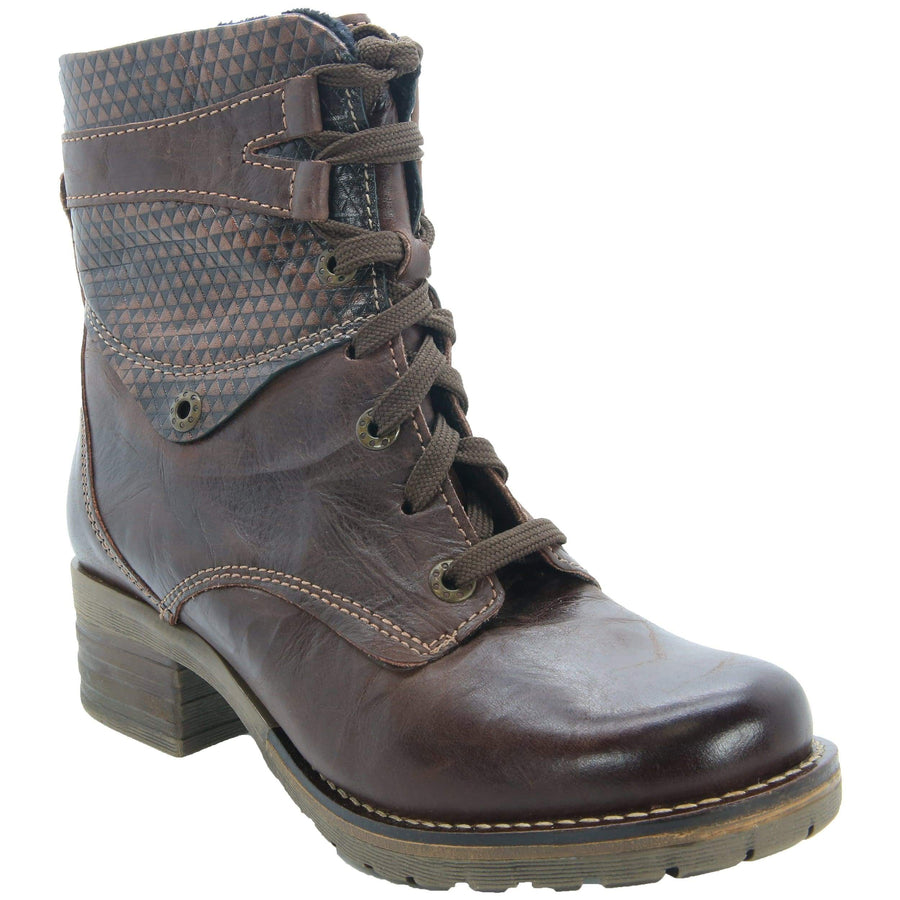 Dromedaris Kara-boot-dark-brown-37 DROMEDARIS Kara Leather Boots Dark Brown / EU-37