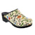 BJORK 750603-90-36 BJORK Dahlia Open Back Leather Clogs Multi / EU-36